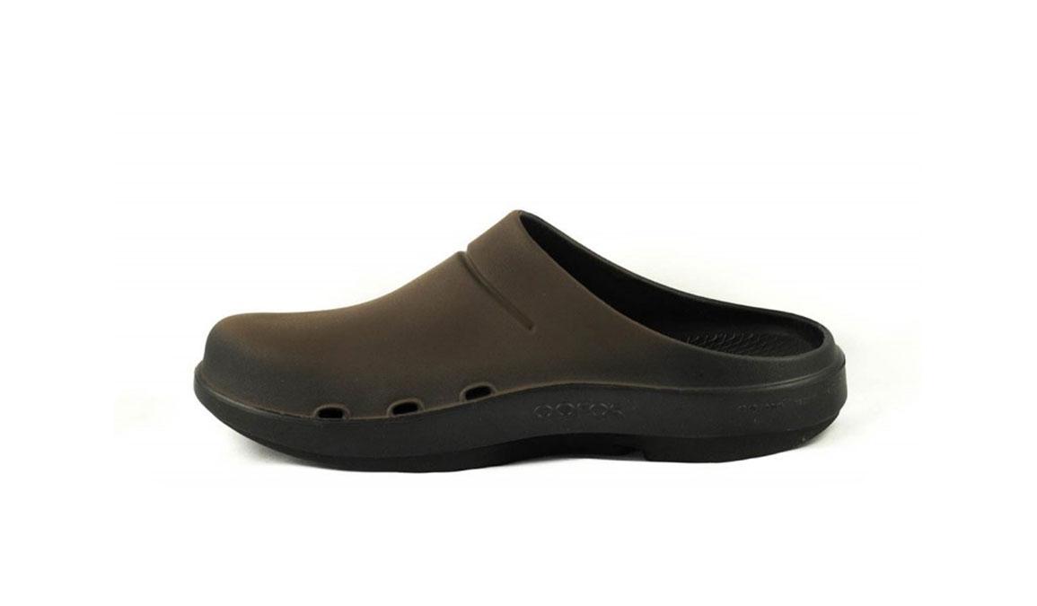 Oofos OOcloog Sport Clog - Color: Brown (Regular Width) - Size: M12/W14, Brown, large, image 4