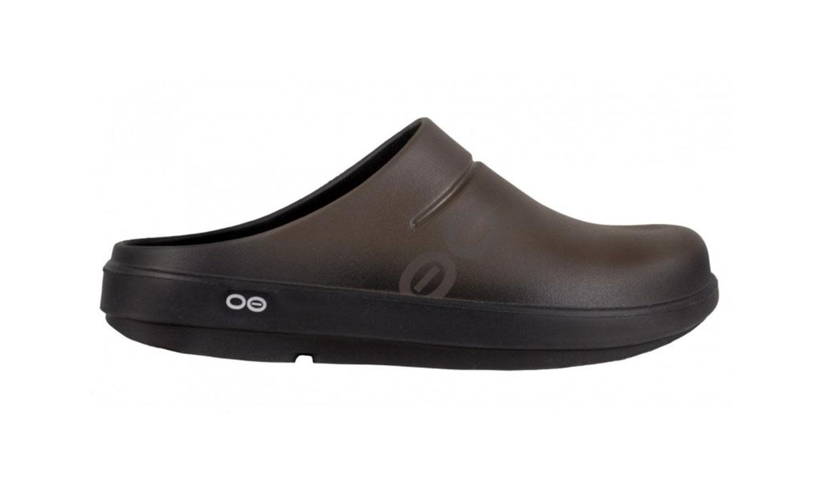 Oofos OOcloog Sport Clog - Color: Brown (Regular Width) - Size: M12/W14, Brown, large, image 1
