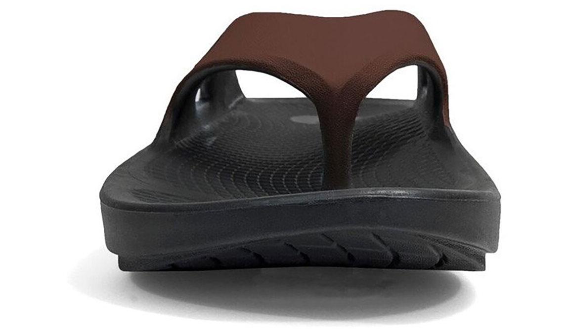 Oofos OOriginal Sport Recovery Sandal - Color: Black/Brown - Size: M9/W11 - Width: Regular, Black/Brown, large, image 4