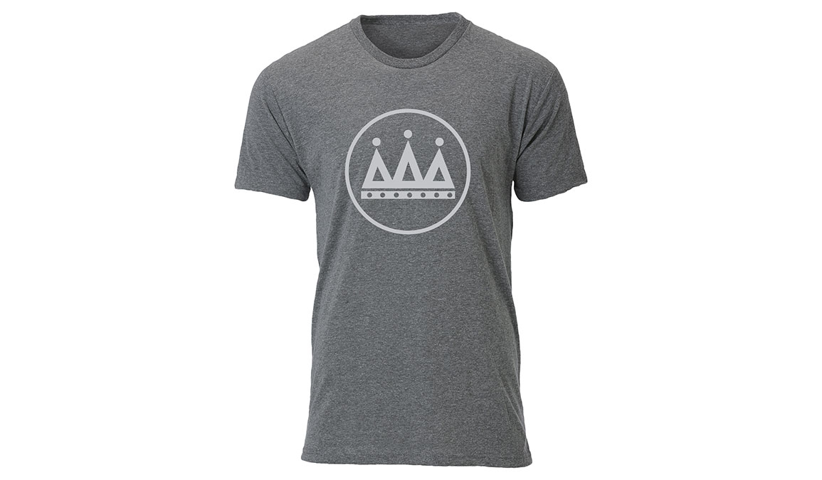 Men's Ouray Rogue Running Logo Shirt  - Color: Premium Heather Size: L, Heather, large, image 2