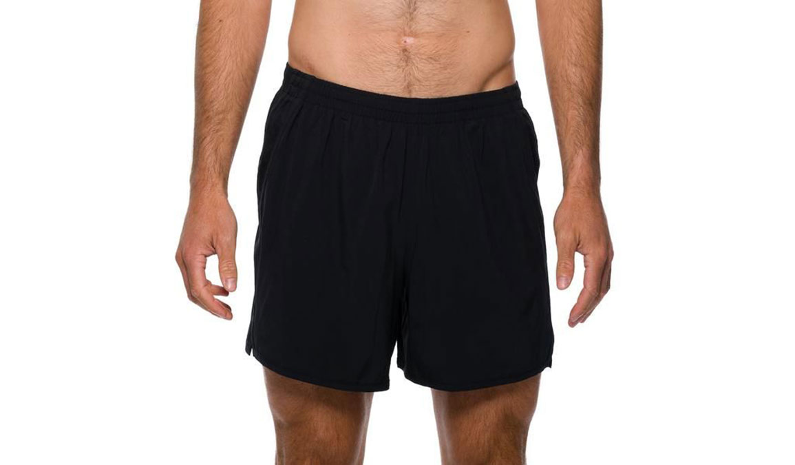 "Men's Rabbit Quadbangers 5"" Short  - Color: Black Size: S, Black, large, image 1"