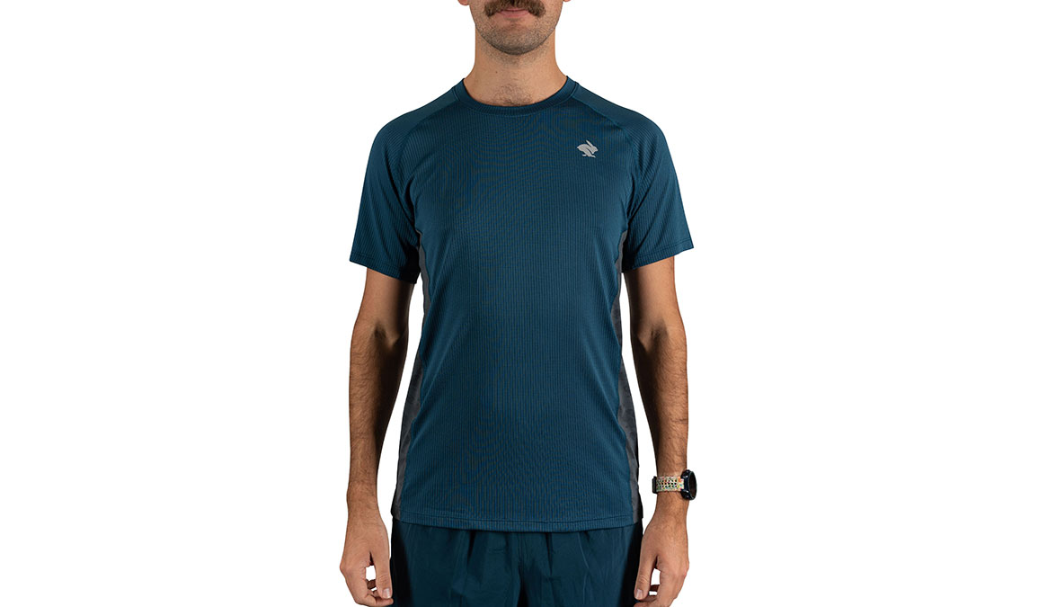 Men's Rabbit Strong Tee  - Color: Majolica Blue/T Size: S, Blue, large, image 1