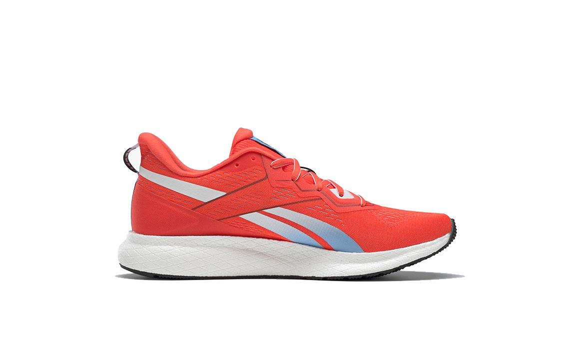 Men's Reebok Floatride Energy 2 Running Shoe - Color: Vivid Orange/White/Fluid Blue (Regular Width) - Size: 7, Orange/White, large, image 2