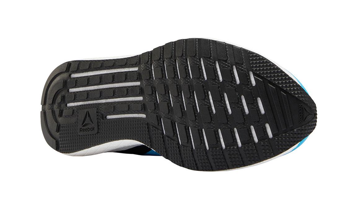Men's Reebok Forever Floatride Energy Running Shoe - Color: Bright Cyan/Black (Regular Width) - Size: 7, Blue/Black, large, image 2