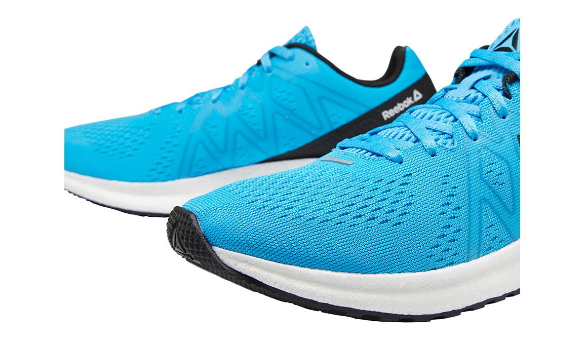 Men's Reebok Forever Floatride Energy Running Shoe - Color: Bright Cyan/Black (Regular Width) - Size: 7, Blue/Black, large, image 4
