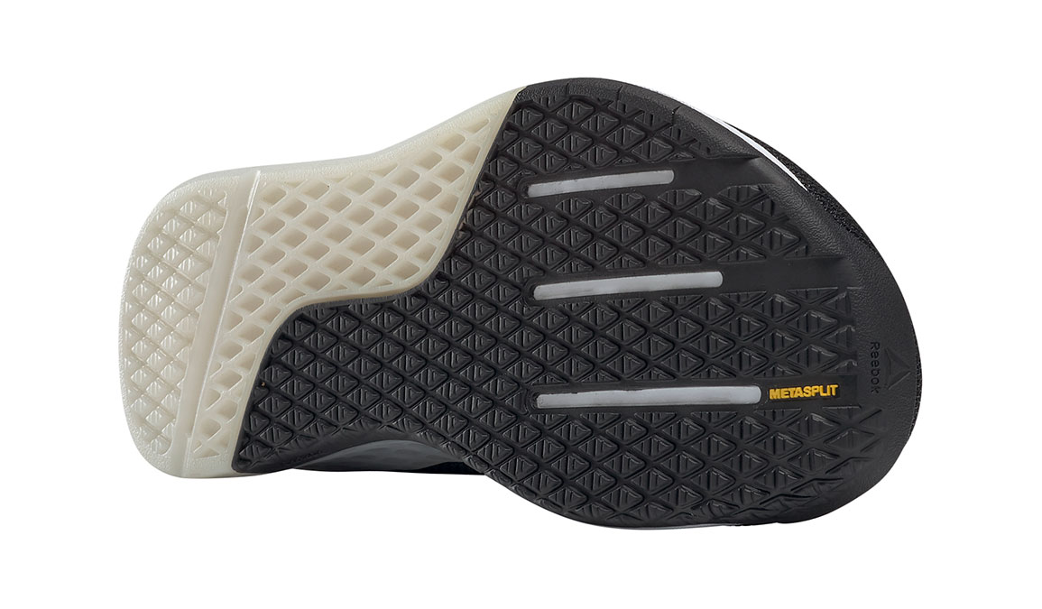 Men's Reebok Nano 9 Training Shoes - Color: Black/White (Regular Width) - Size: 6.5, Black/White, large, image 2