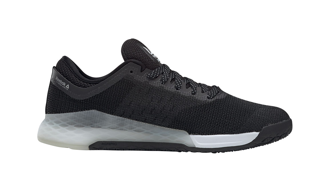 Men's Reebok Nano 9 Training Shoes - Color: Black/White (Regular Width) - Size: 6.5, Black/White, large, image 3