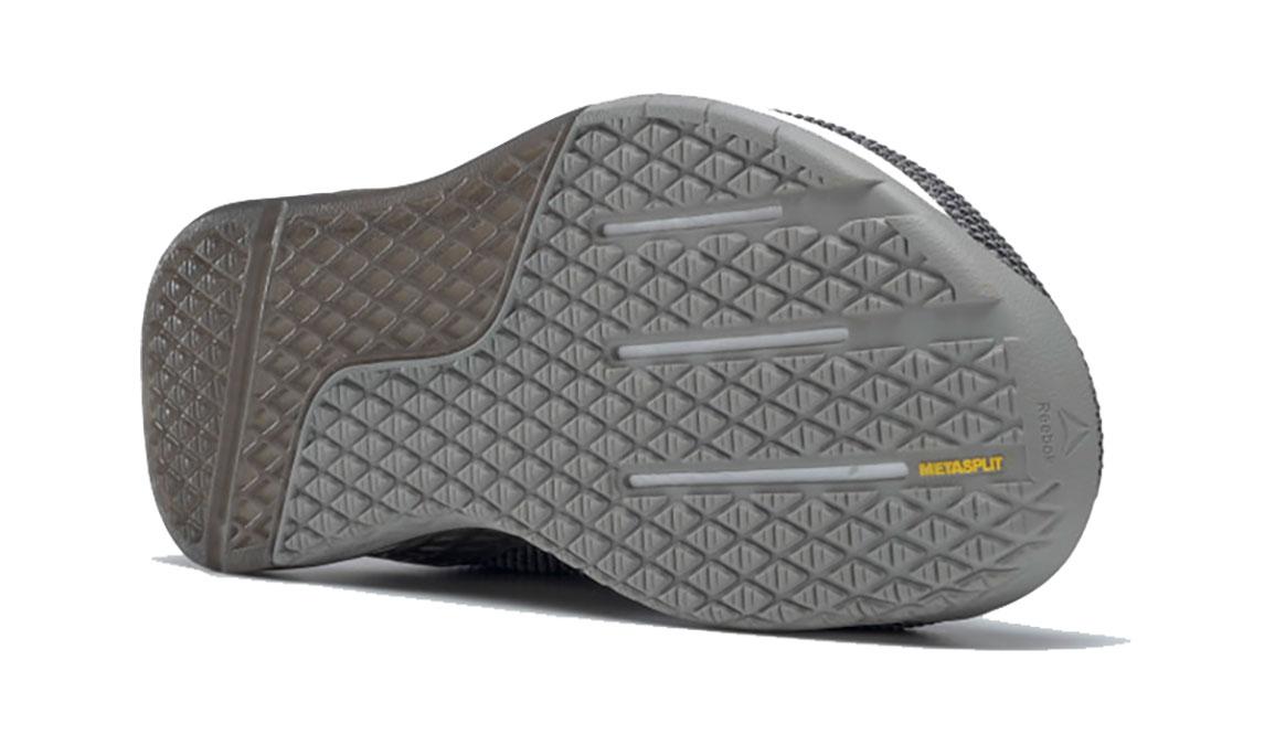 Men's Reebok Nano 9 Training Shoes - Color: Cool Shadow/Black/White (Regular Width) - Size: 8, Grey/White, large, image 4