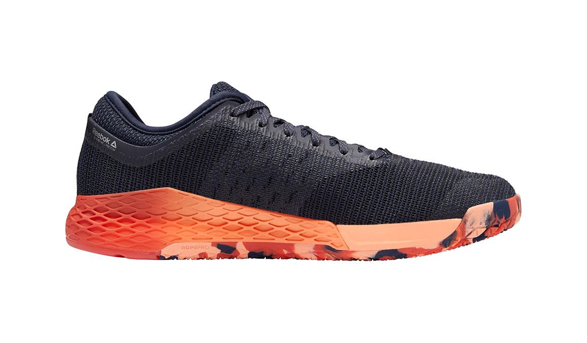 Men's Reebok Nano 9 Training Shoes - Color: Heritage Navy/Rosette (Regular Width) - Size: 7, Navy/Red, large, image 2