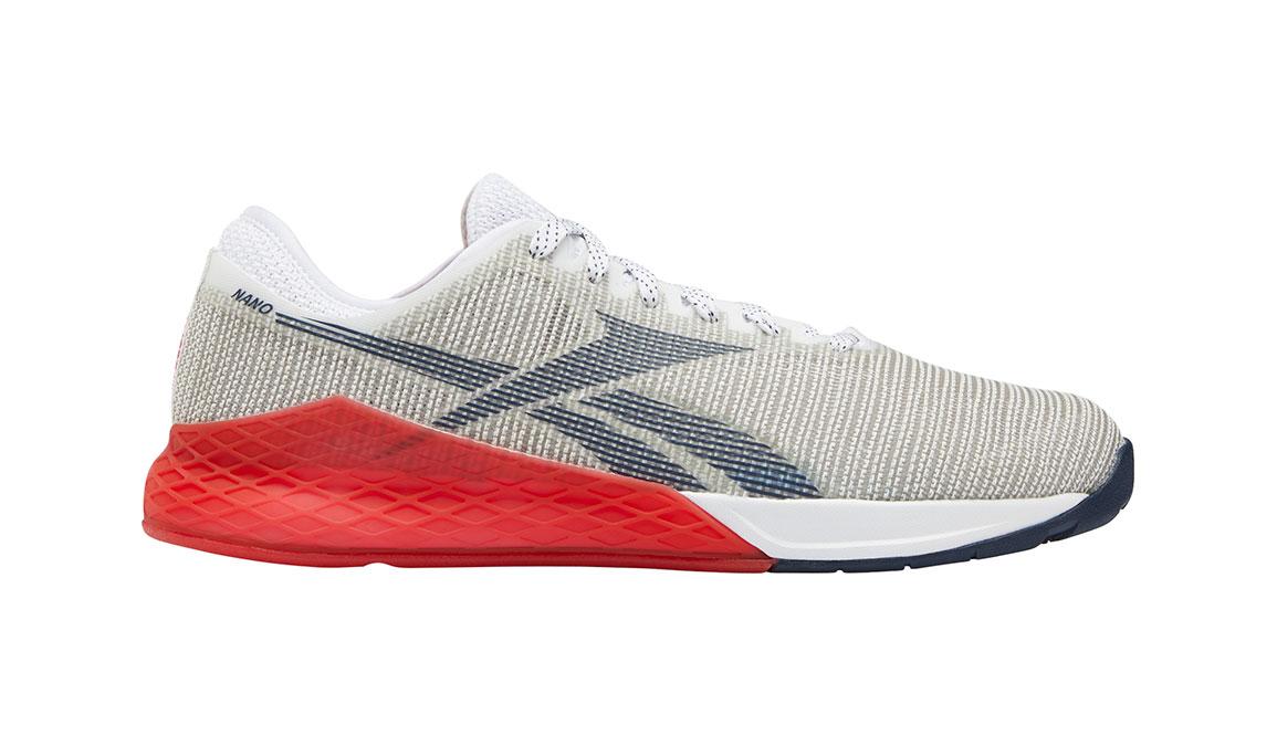 Men's Reebok Nano 9 Training Shoes - Color: White/Primal Red (Regular Width) - Size: 10.5, White/Red, large, image 1