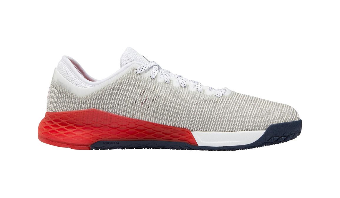Men's Reebok Nano 9 Training Shoes - Color: White/Primal Red (Regular Width) - Size: 10.5, White/Red, large, image 2