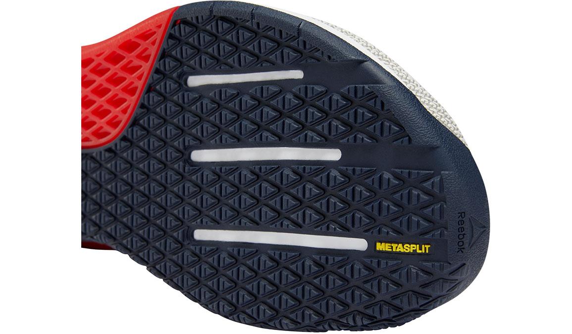 Men's Reebok Nano 9 Training Shoes - Color: White/Primal Red (Regular Width) - Size: 10.5, White/Red, large, image 4