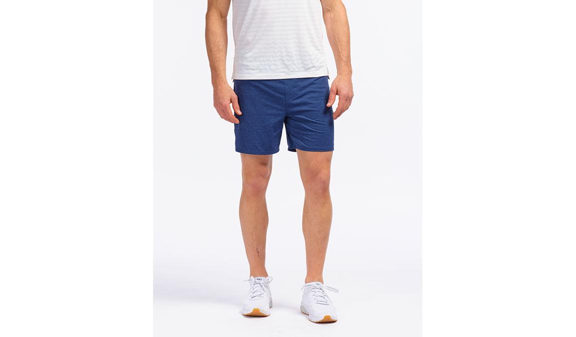 "Men's Rhone 6"" Tempo Shorts - Color: Maritime Heathe Size: M, Blue Heather, large, image 1"
