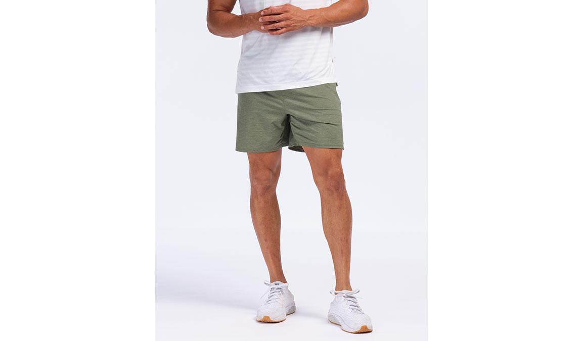 "Men's Rhone 6"" Tempo Shorts - Color: Olive Heather Size: S, Olive, large, image 1"