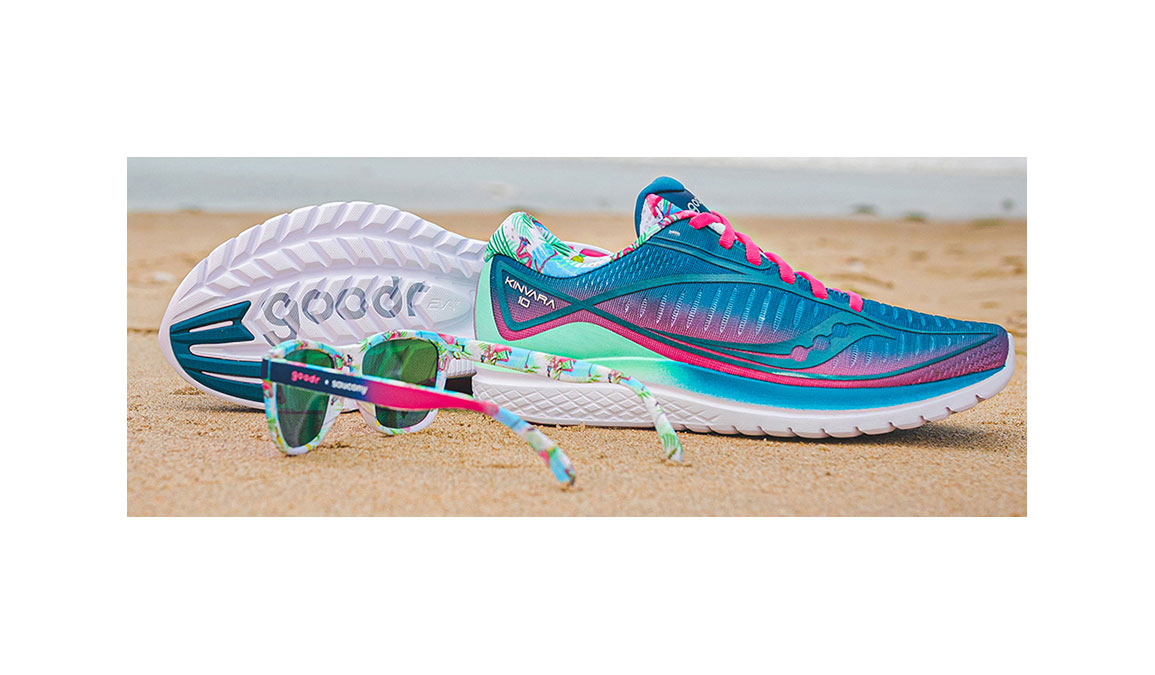 Men's Saucony + Goodr Sauc' It, Squawk It and Rock-It Combo - Color: Multi (Regular Width) - Size: 7.5, Multi, large, image 1