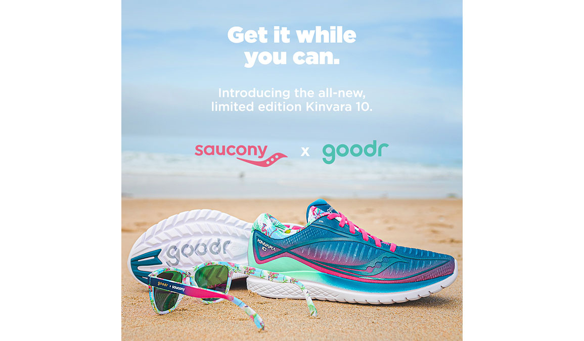 Men's Saucony + Goodr Sauc' It, Squawk It and Rock-It Combo - Color: Multi (Regular Width) - Size: 7.5, Multi, large, image 3