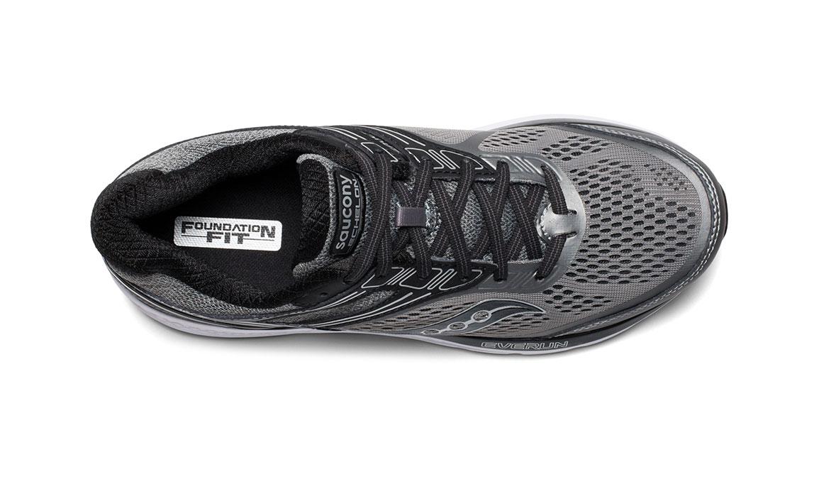 Men's Saucony Echelon 7 Running Shoe - Color: Grey/Black (Regular Width) - Size: 11, Grey/Black, large, image 3