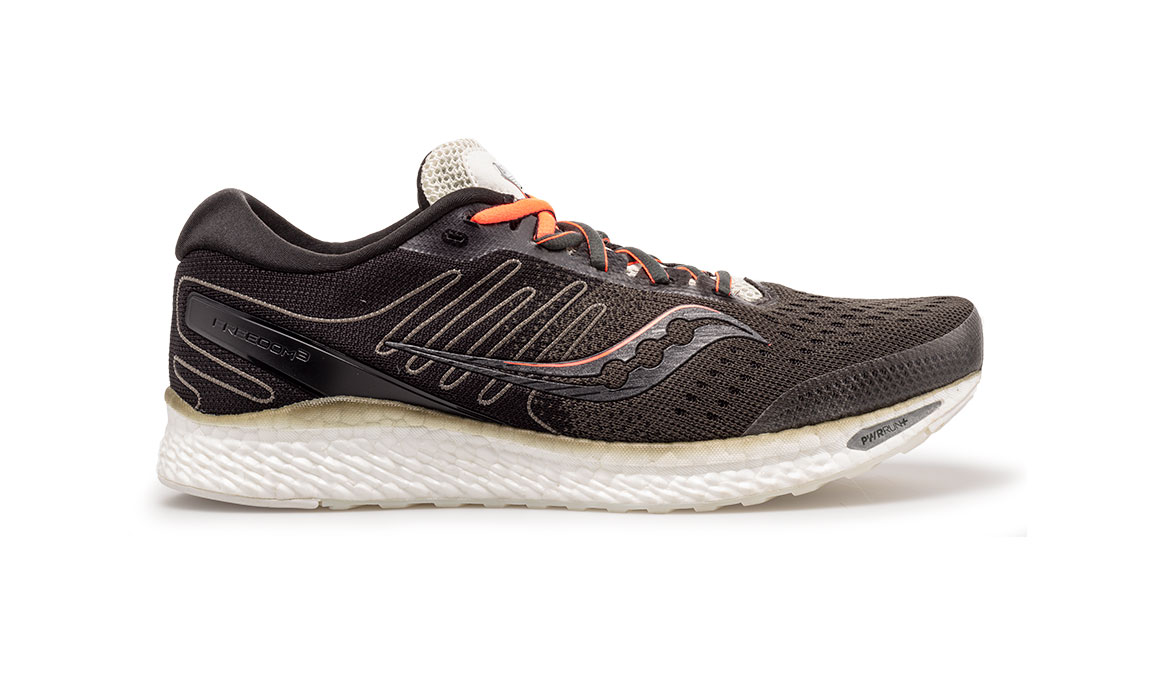Men's Saucony Freedom 3 Jackalope Running Shoe - Color: Jackalope (Regular Width) - Size: 8.5, Brown, large, image 1