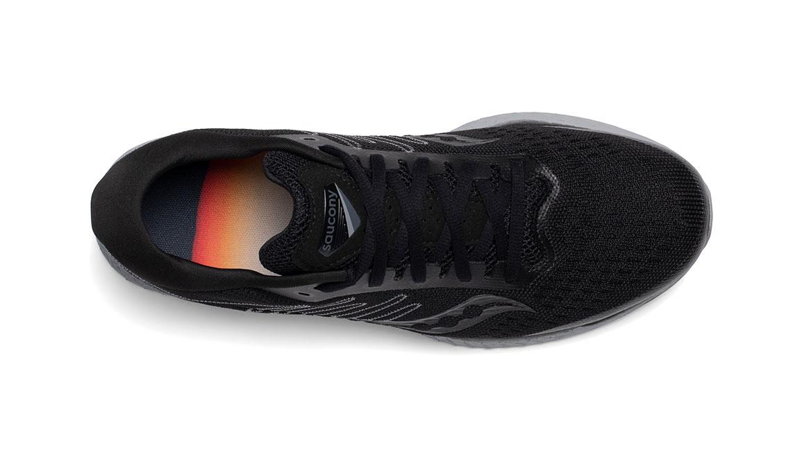 Men's Saucony Freedom 3 Running Shoe - Color: Blackout (Regular Width) - Size: 9, Black, large, image 3