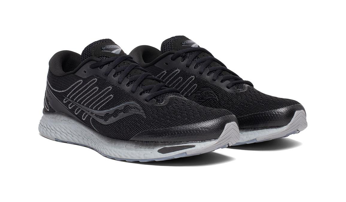 Men's Saucony Freedom 3 Running Shoe - Color: Blackout (Regular Width) - Size: 9, Black, large, image 5