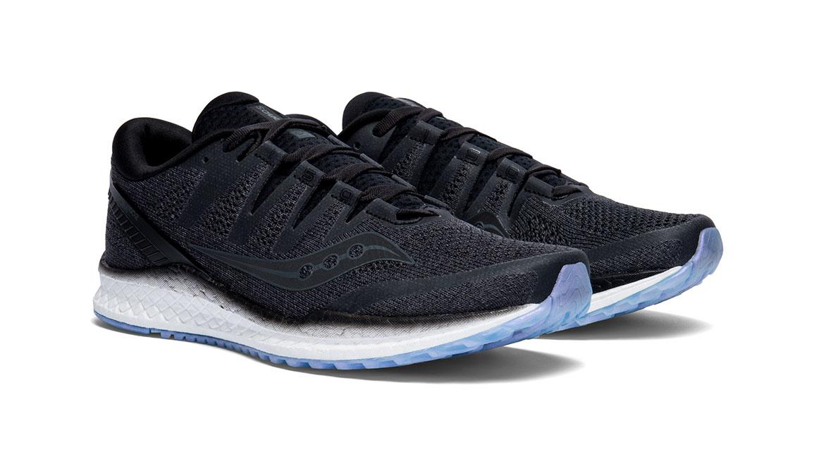 Men's Saucony Freedom ISO 2 Running Shoe - Color: Black (Regular Width) - Size: 10, Black, large, image 2