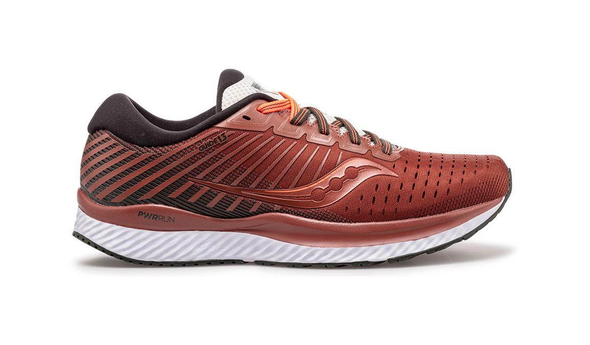 Men's Saucony Guide 13 Jackalope Running Shoe - Color: Jackalope (Regular Width) - Size: 13, Red, large, image 1