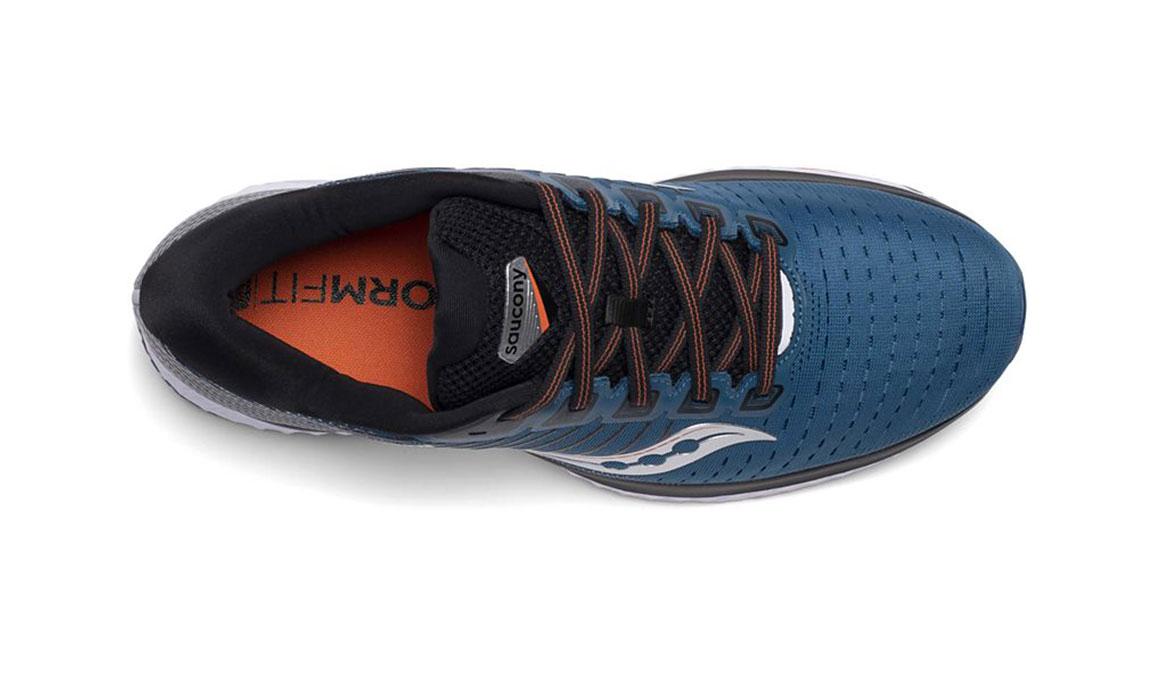 Men's Saucony Guide 13 Running Shoe - Color: Blue/Silver (Regular Width) - Size: 14, Blue/Silver, large, image 3