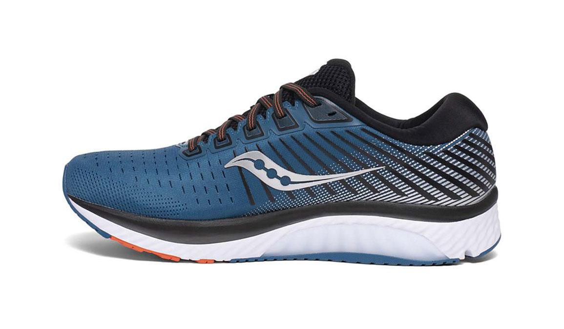 Men's Saucony Guide 13 Running Shoe - Color: Blue/Silver (Regular Width) - Size: 14, Blue/Silver, large, image 2