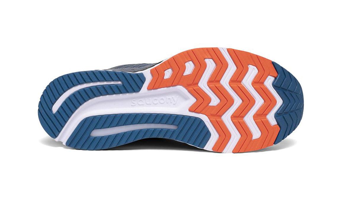Men's Saucony Guide 13 Running Shoe - Color: Blue/Silver (Regular Width) - Size: 14, Blue/Silver, large, image 4