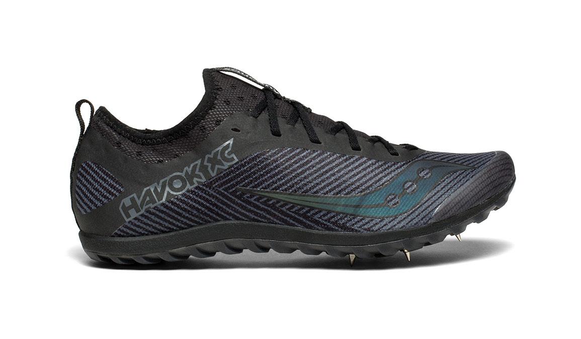 Men's Saucony Havok XC 2 Spike - Color: Black (Regular Width) - Size: 8, Black, large, image 1