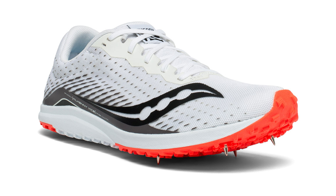 Men's Saucony Kilkenny XC8 Track Spikes - Color: White/Red (Regular Width) - Size: 11, White/Red, large, image 5