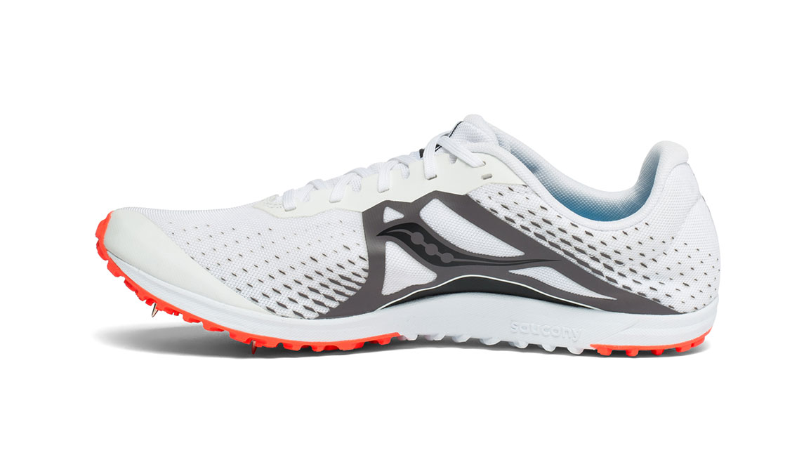 Men's Saucony Kilkenny XC8 Spike - Color: White/Red (Regular Width) - Size: 11, White/Red, large, image 2