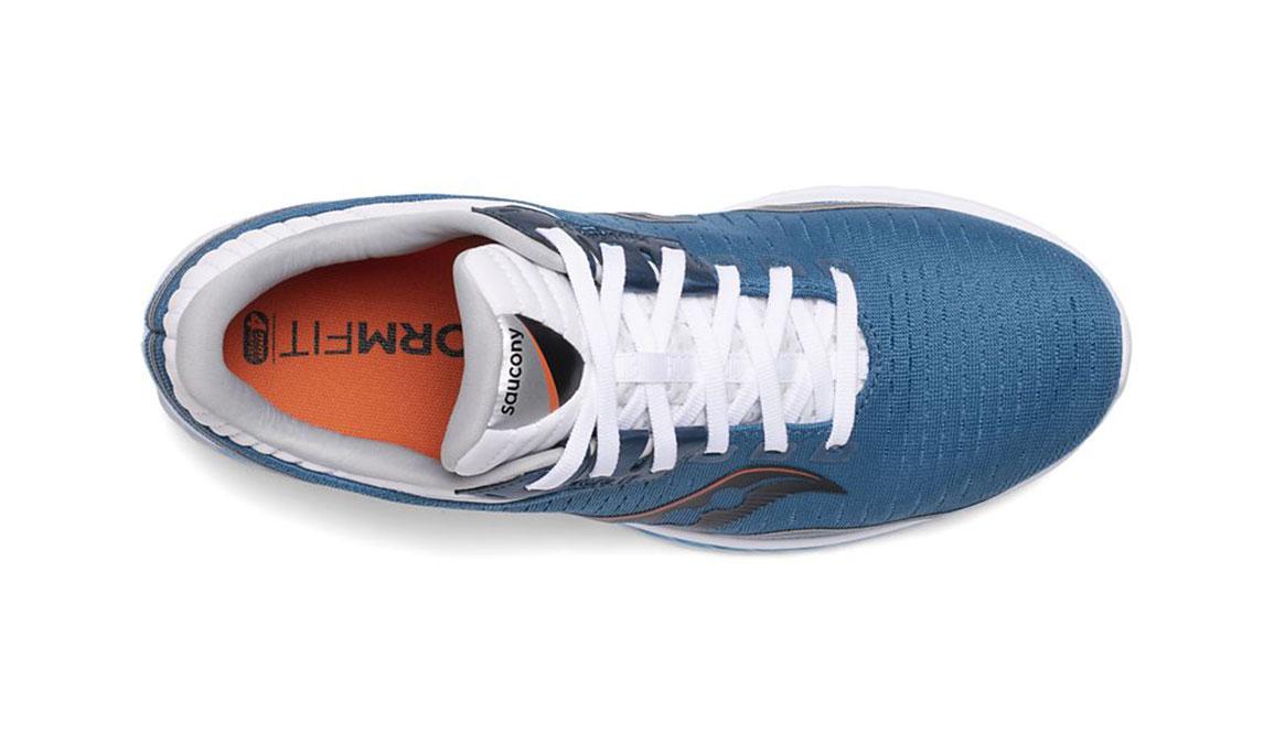 Men's Saucony Kinvara 11 Running Shoe - Color: Blue/Black (Regular Width) - Size: 12, Blue/Black, large, image 3