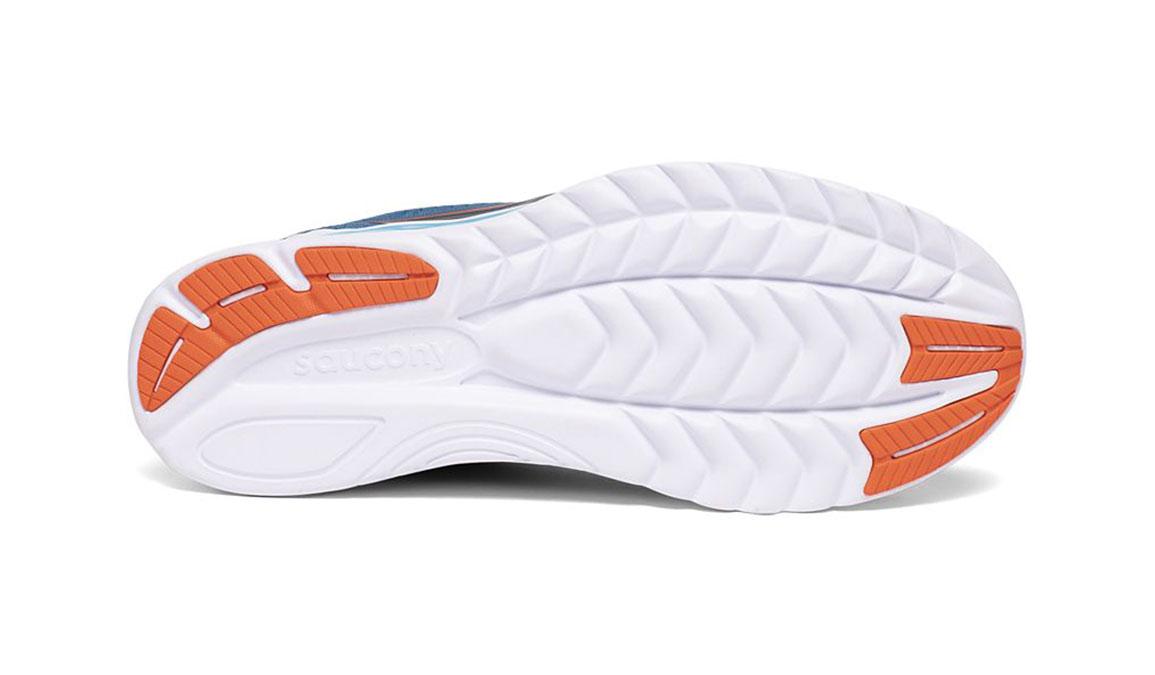 Men's Saucony Kinvara 11 Running Shoe - Color: Blue/Black (Regular Width) - Size: 12, Blue/Black, large, image 4