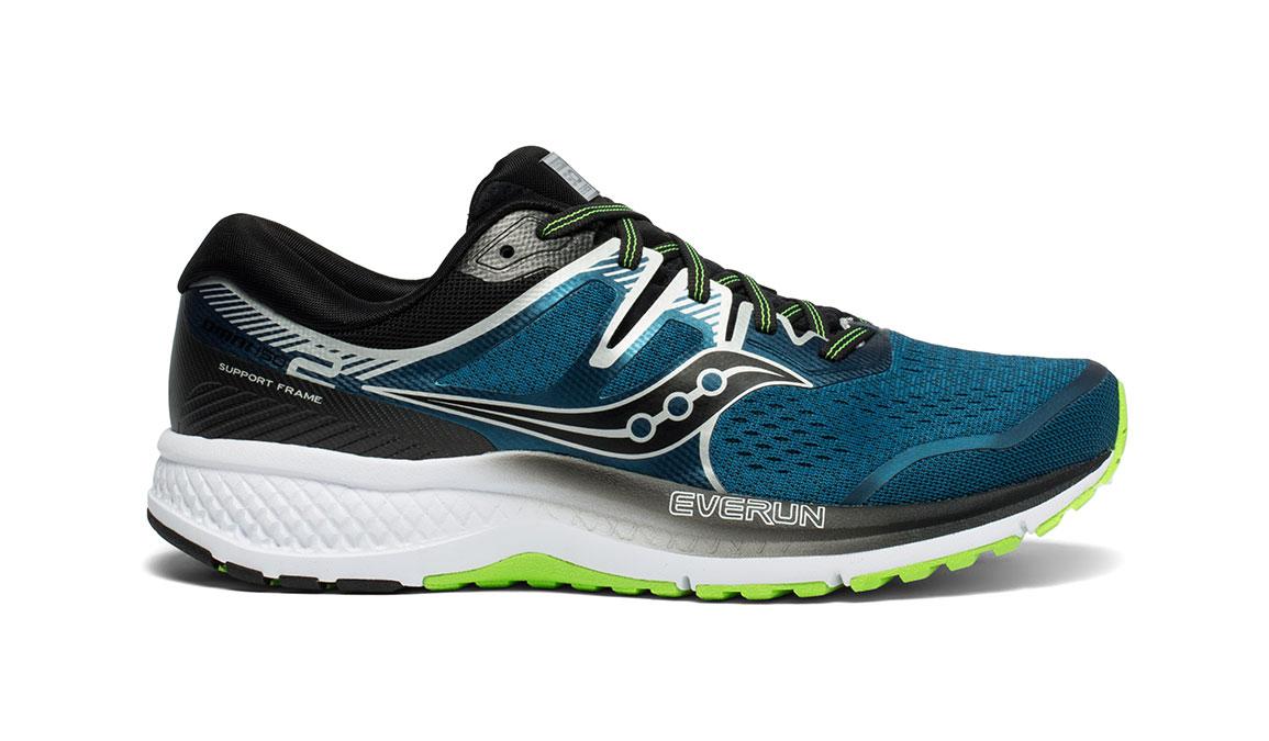 Men's Saucony Omni ISO 2 Running Shoe - Color: Marine/Silver (Regular Width) - Size: 11, Marine, large, image 1