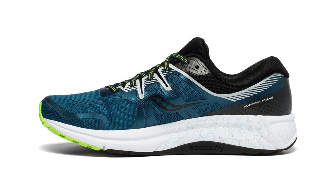 Men's Saucony Omni ISO 2 Running Shoe - Color: Marine/Silver (Regular Width) - Size: 11, Marine, large, image 2