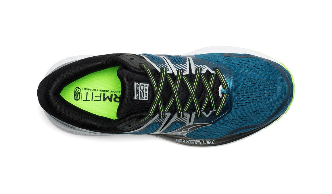 Men's Saucony Omni ISO 2 Running Shoe - Color: Marine/Silver (Regular Width) - Size: 11, Marine, large, image 3