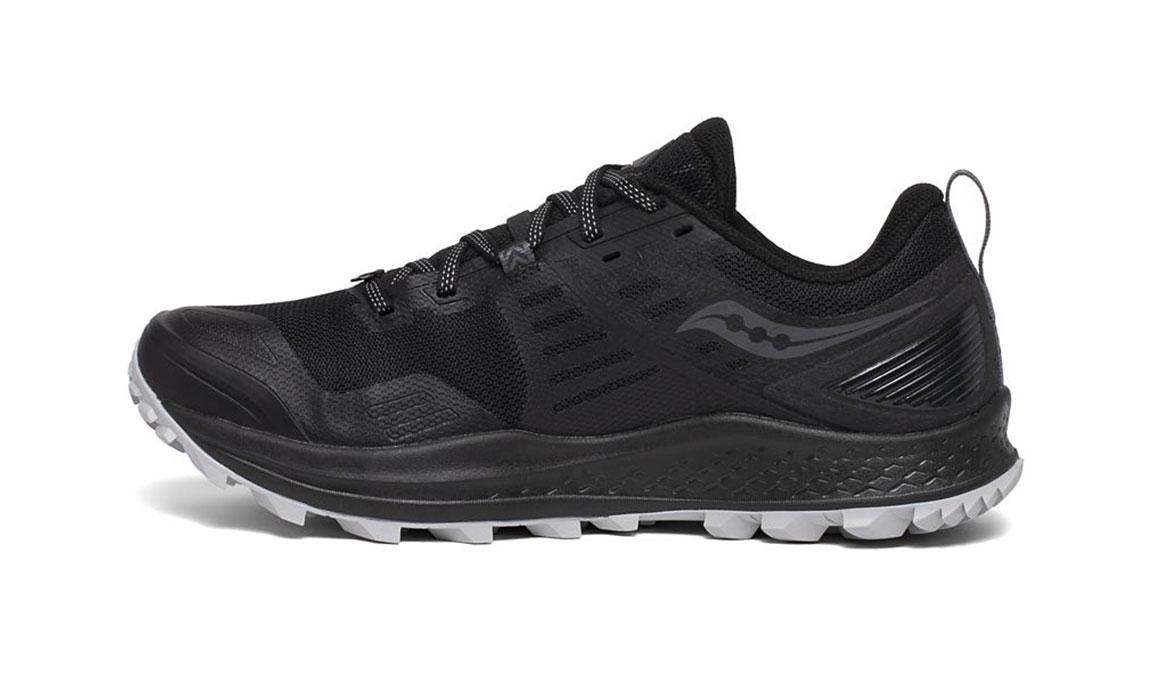 Men's Saucony Peregrine 10 Trail Running Shoe - Color: Black/Red (Regular Width) - Size: 8, Black/Red, large, image 2