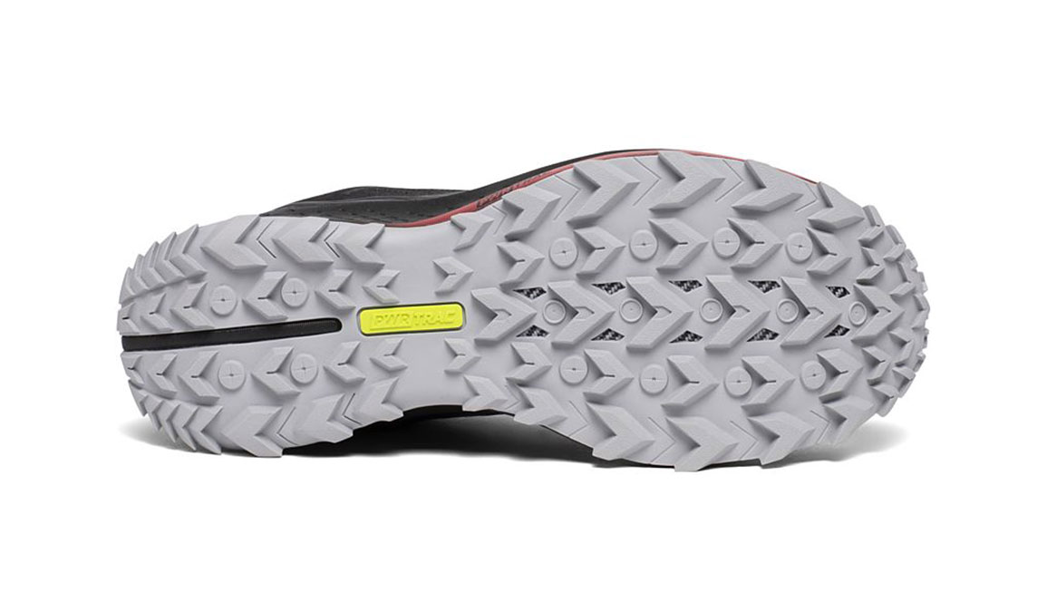 Men's Saucony Peregrine 10 Trail Running Shoe - Color: Black/Red (Regular Width) - Size: 8, Black/Red, large, image 4