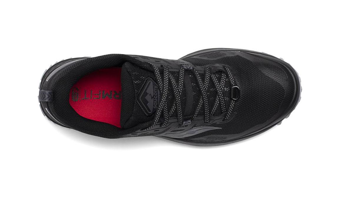 Men's Saucony Peregrine 10 Trail Running Shoe - Color: Black/Red (Regular Width) - Size: 8, Black/Red, large, image 3