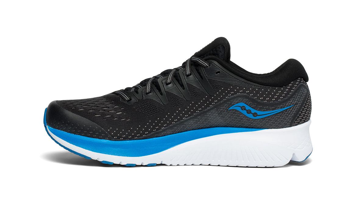 Men's Saucony Ride ISO 2 Running Shoe - Color: Black/Blue (Regular Width) - Size: 12.5, Black/Blue, large, image 2