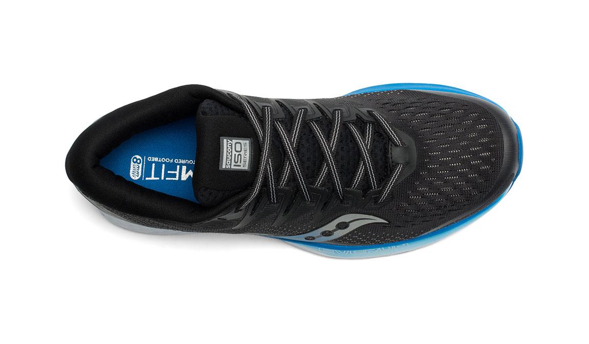 Men's Saucony Ride ISO 2 Running Shoe - Color: Black/Blue (Regular Width) - Size: 12.5, Black/Blue, large, image 3