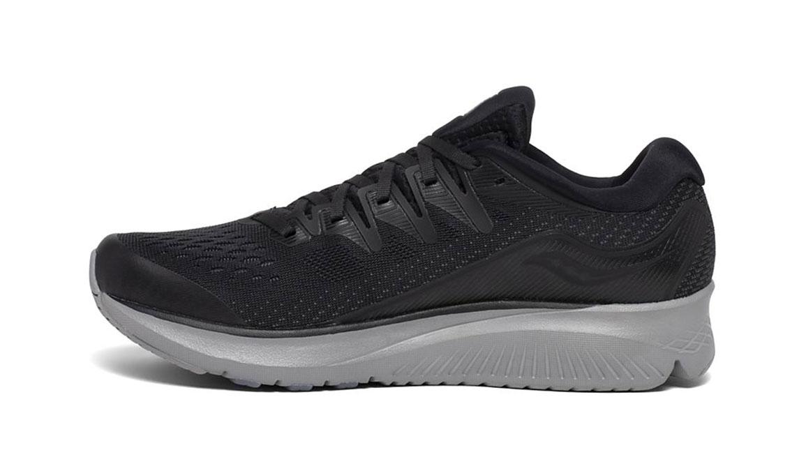 Men's Saucony Ride ISO 2 Running Shoe - Color: Blackout (Regular Width) - Size: 7, Black, large, image 2