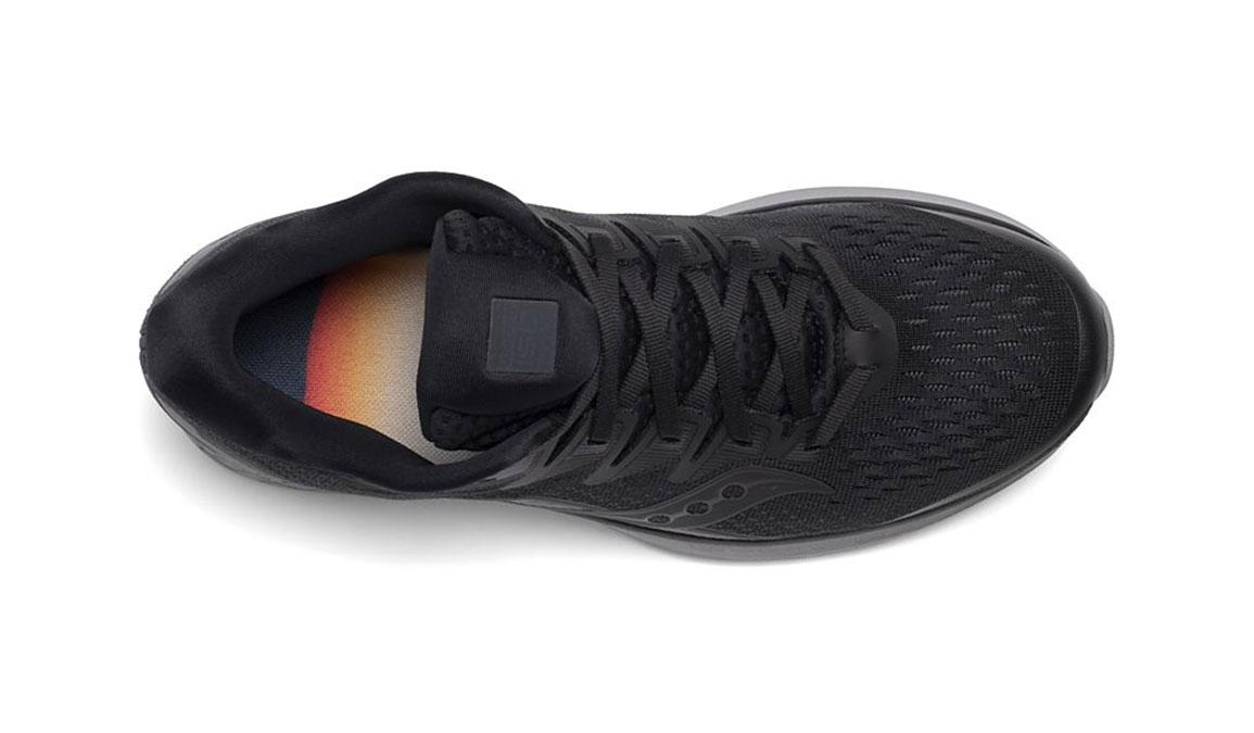 Men's Saucony Ride ISO 2 Running Shoe - Color: Blackout (Regular Width) - Size: 7, Black, large, image 3
