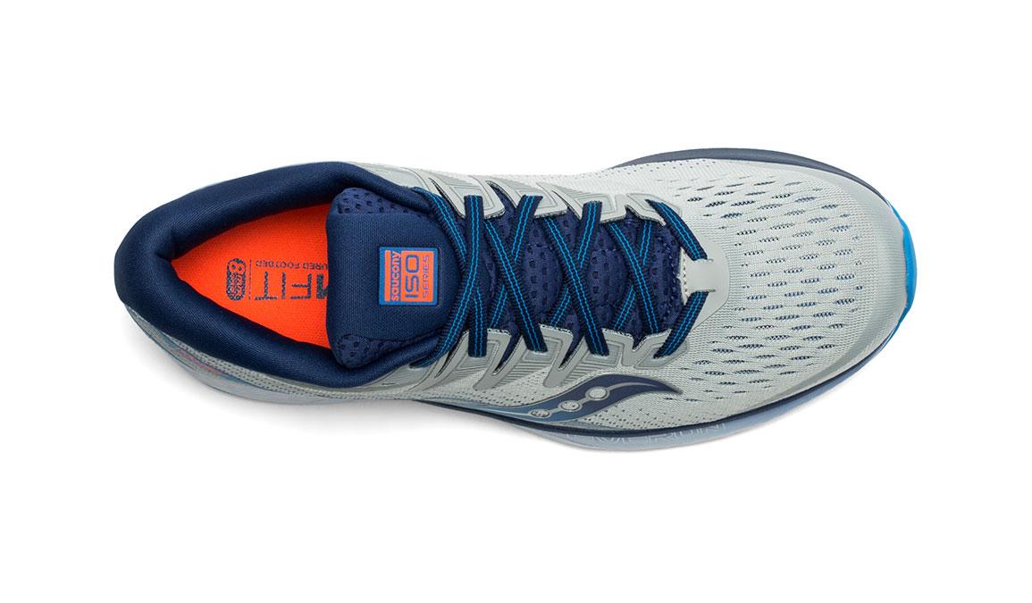 Men's Saucony Ride ISO 2 Running Shoe - Color: Grey/Blue (Regular Width) - Size: 11.5, Grey/Blue, large, image 3