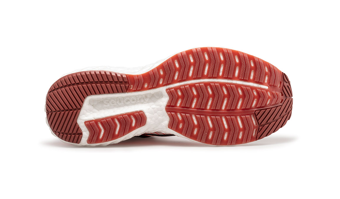 Men's Saucony Triumph 17 Jackalope Running Shoe - Color: Jackalope (Regular Width) - Size: 10.5, Grey/White, large, image 2