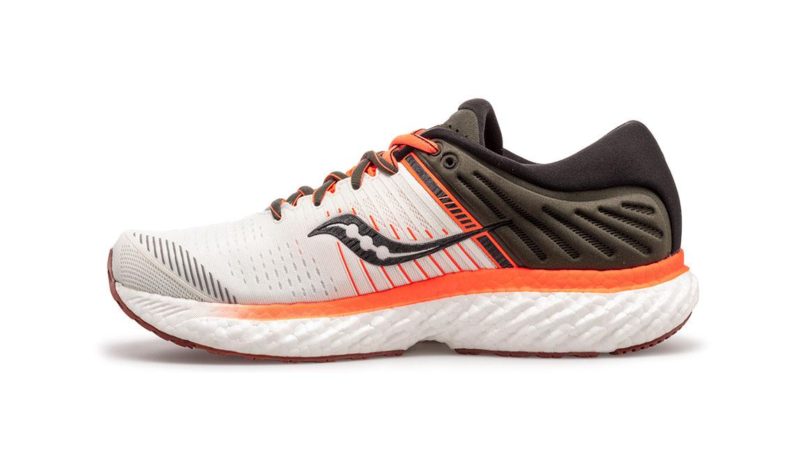Men's Saucony Triumph 17 Jackalope Running Shoe - Color: Jackalope (Regular Width) - Size: 10.5, Grey/White, large, image 3