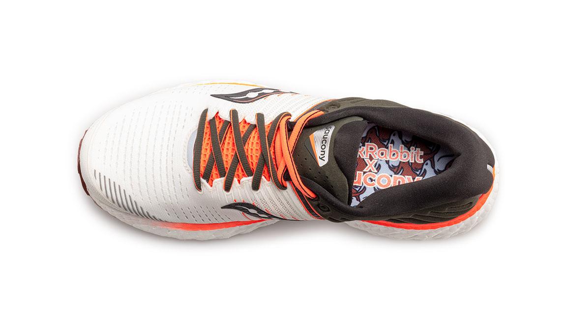 Men's Saucony Triumph 17 Jackalope Running Shoe - Color: Jackalope (Regular Width) - Size: 10.5, Grey/White, large, image 4