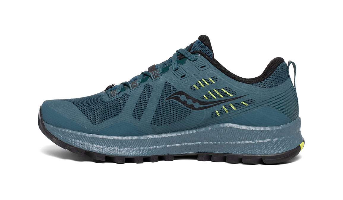 Men's Saucony Xodus 10 Trail Running Shoe - Color: Steel (Regular Width) - Size: 8, Steel, large, image 2