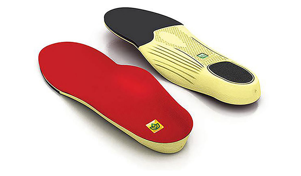 Spenco Walker/Runner II Insole - Color: Red Size: 1, Red, large, image 1